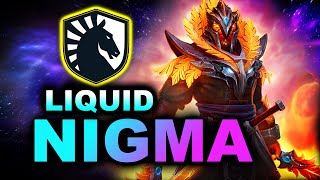 NIGMA vs LIQUID - OLD vs NEW LIQUD - ESL One Birmingham 2020 DOTA 2