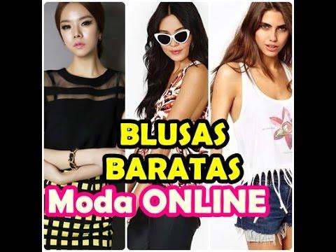 ♥BLUSAS DE MODA♥ 2015 ¡¡Bonitas y baratas!!