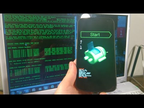 PART 1  Galaxy Nexus FULL CUSTOMIZATION TUTORIAL. JELLY BEAN 4.1