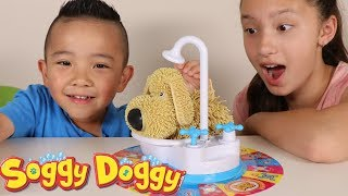 Soggy Doggy The Showering Shaking Wet Funny Kids Game Fun With Ckn Toys