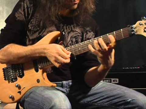 Ron Thal - Guitar Demonstration January 2008