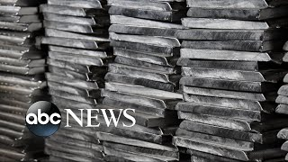 Trump imposes stiff tariffs on imports of steel, aluminum