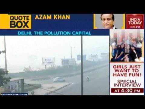 Delhi's Air Pollution Levels At All-time High