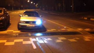 Audi 100 S4 1993 vs Bmw 5 e60 2004.mp4