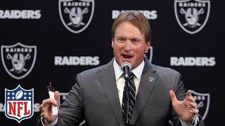 "Jon Gruden Introduced as Raiders Head Coach, ""I want to win"" | NFL"