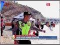 Tarik Mang!! Polisi Joget Dangdut Pantura Hibur Pemudik Di Pintu Tol Fungsional   BIP 19/06