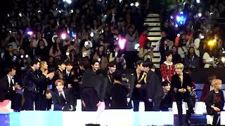 171201 MAMA - BTS Cypher 4, Mic Drop Reaction: EXO, Super Junior, Taemin, Day6, Wanna One, NCT127