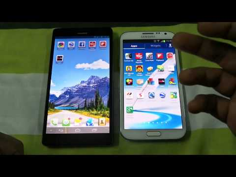 Huawei Ascend Mate Vs Samsung Galaxy Note 2 Opening Apps Speed Comparison