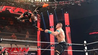John Cena vs. Stardust – United States Championship Match: Raw, April 6, 2015