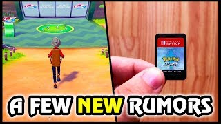 NEW RUMORS & More for Pokemon Sword and Shield