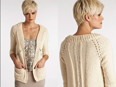 #27 Textured Cardigan, Vogue Knitting Spring/Summer 2012