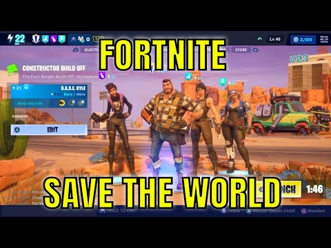 Fortnite Save The World #29 - Constructor Build Off