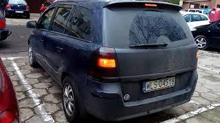 Zafira b lusterka składane z pilota mirror folding Opel automatyczne ryglowanie