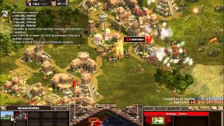 Rise of Nations, 1v1 toughest AI