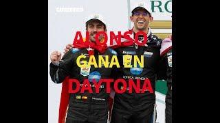 Así ganó Fernando Alonso las 24 horas de Daytona | CAR AND DRIVER FÓRMULA 1