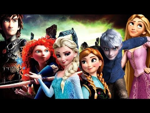 Rise Of The Frozen Brave Tangled Dragons - The Battle (narnia Soundtrack) video