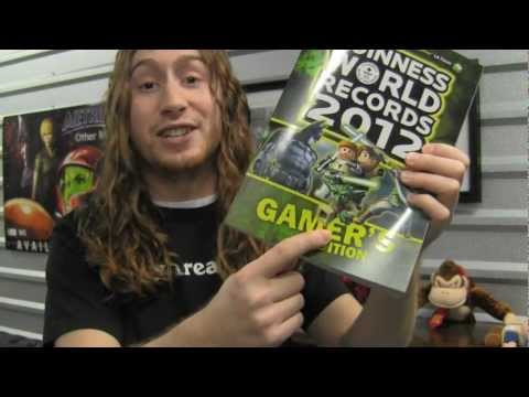 CGRundertow GUINNESS WORLD RECORDS 2012: GAMER'S EDITION Video Game Book Review