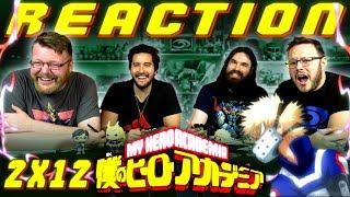 "My Hero Academia [English Dub] 2x12 REACTION!! ""Todoroki vs. Bakugo"""