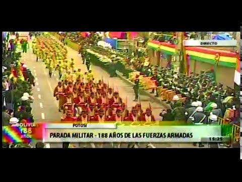 Parada Militar Bolivia - 2013 - Potosi Parte5