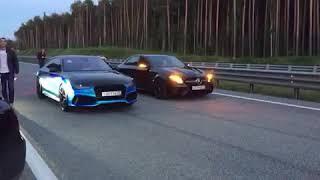 Audi rs7 st2 Revo vs amg e63s