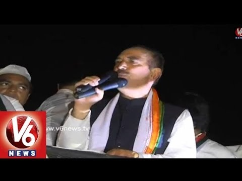 Congress Leader Gulam Nabi Azad Tour in Karimnagar - Telangana
