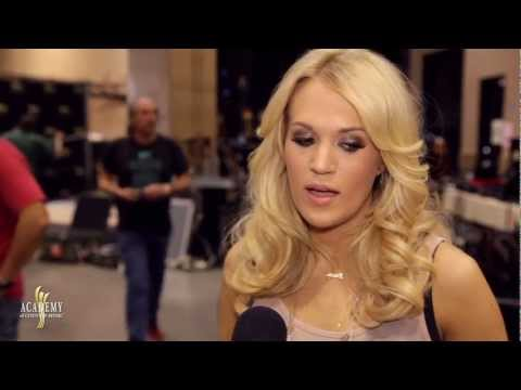 Behind the Scenes at Rehearsals: Carrie Underwood - 2013 ACM Awards