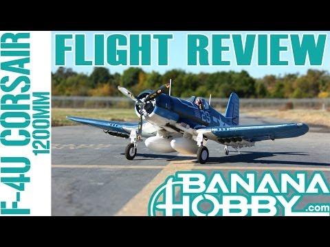 F4U Corsair 1200MM LX | Flight Review | Warbird & Military | RCINFORMER