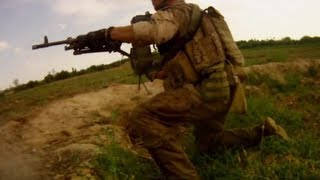 TALIBAN AMBUSH RECON MARINES - 2 Helmet Cams