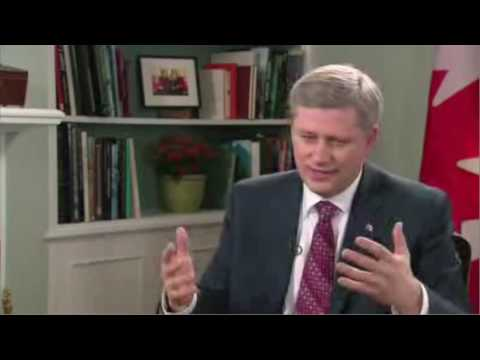Stephen Harper Talks About Marijuana on YouTube