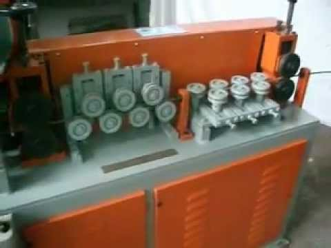 Square Wire Straightening And Cutting Machine Sarbjeet