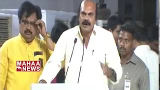 Sriram Malyadri Speech About AP Special Status | #DharmaPorataDeeksha
