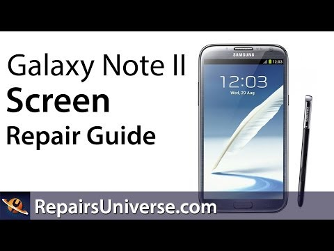 Samsung Galaxy Note 2 Screen Repair Guide