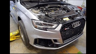 AUDI RS3 DRAG RACING AFTERMATH (NOT AS BAD AS WE THOUGHT)