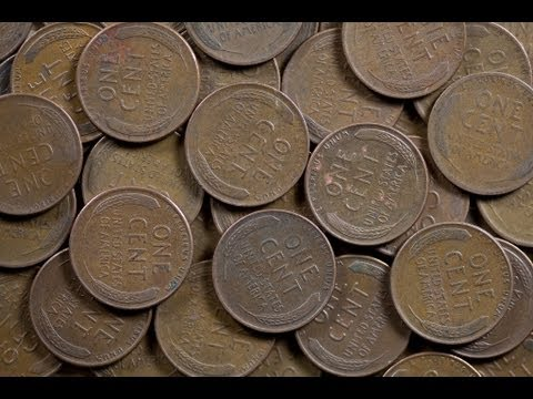 Coin Roll Hunting Penny Box 40 Amazing Wheat Cents Find Youtube