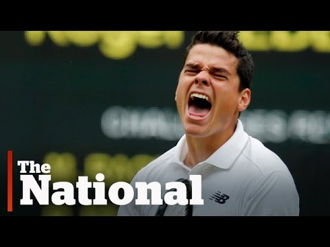 Milos Raonic Advances to Wimbledon Finals