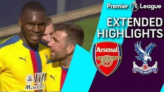 Arsenal v. Crystal Palace PREMIER LEAGUE EXTENDED HIGHLIGHTS 42119 NBC Sports