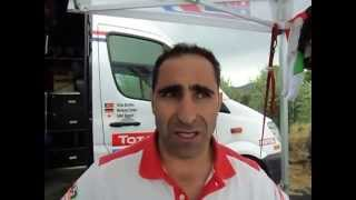 Sardegna Rally Race 2015: Paulo Goncalves at the end of the second stage