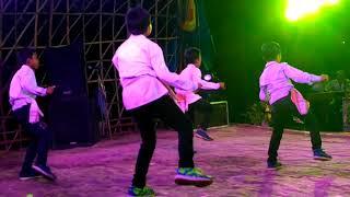Nach bhonti nach by Nekib.. Dance by Lil. Boys. From back stage.
