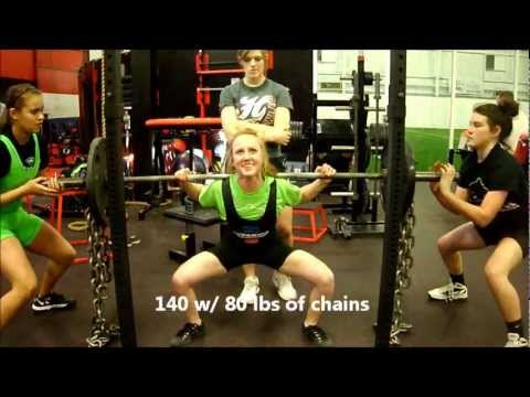 Shelby Collett 97 - Powerlifting Squat & Deadlift Training 01/06/13 @ BAG Image 1