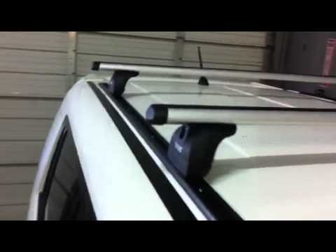 Scion Xb Outfitted With Thule Podium Roof Rack System