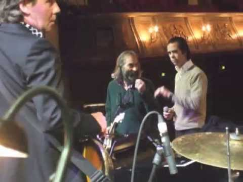 Nick Cave  and the Bad Seeds behind the scenes &#039;Push the Sky Away&#039; Feb 2013