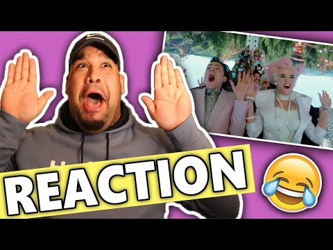 Katy Perry ft. Skip Marley - Chained To The Rhythm (Official Video) REACTION