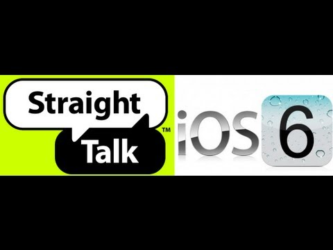 iOS 6.0 MMS and Data Fix on Straight Talk for iPhone 4