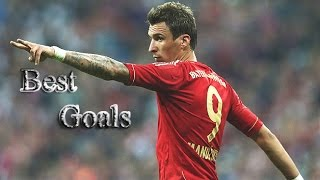 Mario Mandzukic || Best goals ever || Welcome to Juve