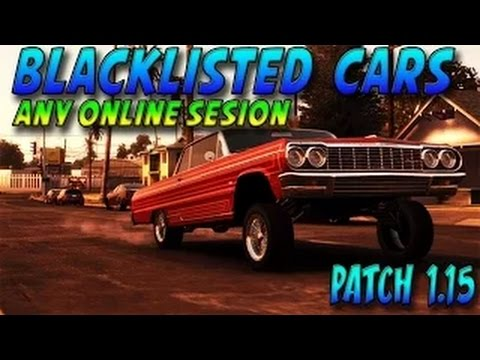GTA 5 Glitches How to Get Tow Truck Online Patch 1.15 SP MP Blacklisted Cars Online 1.15