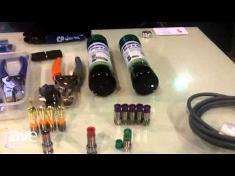 CEDIA 2014: Belden Connectivity Shows Off Snap-N-Seal Compression Connectors