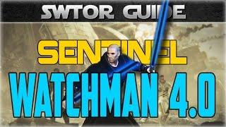 SWTOR Class Guide: Jedi Sentinel Watchman (Patch 4.0+)
