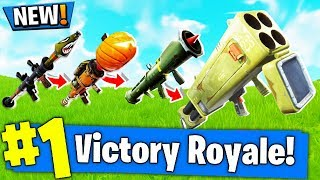 QUAD LAUNCHER GUN GAME CUSTOM MODE in Fortnite PLAYGROUND V2 MODE! - Fortnite Battle Royale