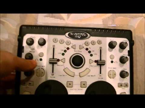UNBOXING DE MESA DE MEZCLAS HERCULES DJ CONTROL MP3 PORTABLE
