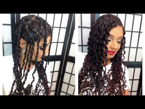 Two Strand Twist Out Tutorial